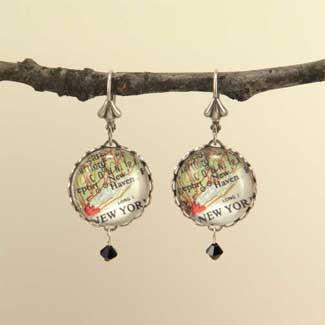 New York Earrings 26 00
